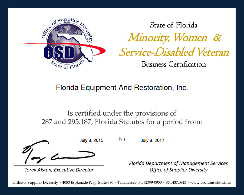 Florida Women Owned Businesses: FEAR, Inc.